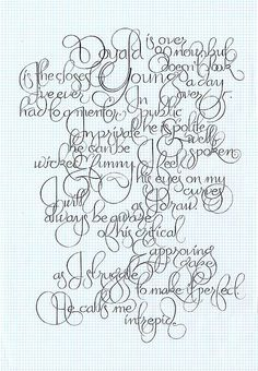 marian bantjes calligraphy perfection