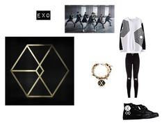 """""""EXO is awesome"""" by heedagurl on Polyvore"""