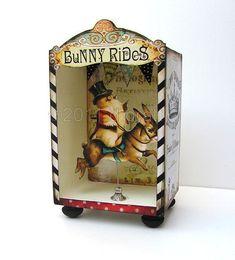 bunny rides. adorable.