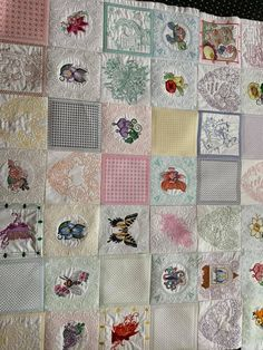 Embroidery Art, Quilts, Blanket, Bed, Facebook, Jeans, Quilt Sets, Quilt, Rug