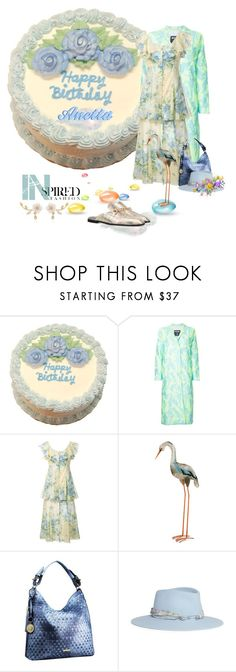"""Happy Birthday to @lacas, April 5th"" by ragnh-mjos ❤ liked on Polyvore featuring MSGM, Alice McCall, National Tree Company and Maison Michel"