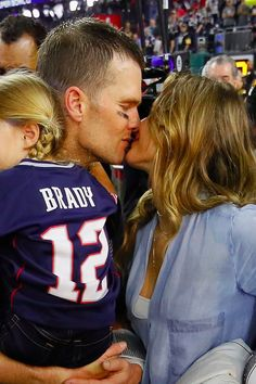 Tom Brady and Gisele Bündchen Take Their Sweet Love to the Field After the Super Bowl