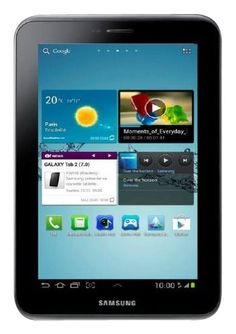 """Samsung Galaxy Tab 2 (7-Inch, Wi-Fi) by Samsung-$238.00-Keep yourself entertained at home and on the road with the Samsung Galaxy Tab 2 (7.0). Weighing just 12 ounces and sporting a vibrant 7-inch touchscreen display, the Galaxy Tab 2 runs the Android 4.0 (""""Ice Cream Sandwich"""") operating system and is powered by a 1.0 GHz dual-core processor to help you achieve maximum usage across various demanding applications.Access the Internet and stream media over your home network via ultra-fast…"""