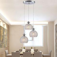 Stile Tiffany Rustico/campestre Moderno/Contemporaneo Tradizionale/Classico Batteria Sfera Lampadari Luci Pendenti Per Salotto Camera da