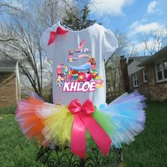 Shopkins Birthday Outfit Shopkins Tutu by LorisLittleLovlies