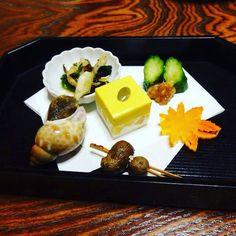 A piece of art... Kaiseki  #kaisers #food #Kyoto #Japan #art #delicatessen #foodie #comida #snail #cucumber #traditional #homemade #travel #gayboy #kaiseki by yosoypabliyo
