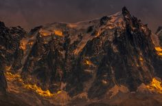 Aiguille de Midi at Sunset  :)(: