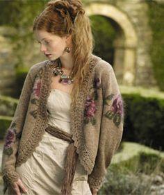 Botticelli - Rowan knitting pattern from Rowan Knitting & Crochet Magazine 44