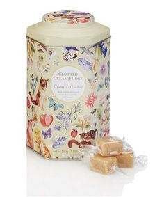 Crabtree foodie tins; reuse them for loose tea, cookies, jewelry ect!