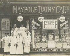 Maypole Dairy Co Ltd Chesterfield Dairy Co, Derbyshire, Chesterfield, Primitive, Nostalgia, Shops, Retail, Memories, History
