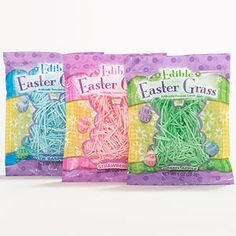 Edible Easter Grass!  I didn't know this exsisted but I must try it now! From World Market.