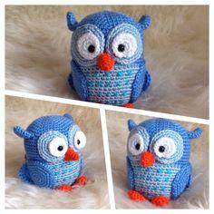 Spielzeug Kuscheltier Eule Vogel Amigurumi Toy Baby Kinder Stoffpuppe Neu in Spielzeug, Stofftiere, Sonstige | eBay