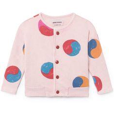 Toddler Baby Girls Bodysuit Short-Sleeve Onesie Yin Yang Circle Print Jumpsuit Spring Pajamas