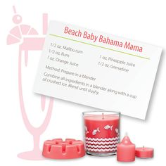 Hey, Beach Baby! Wanna Go Skinny Sipping with PartyLite? — PartyLite Magazine