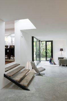 Interior Architecture, Interior And Exterior, Stairs Architecture, Creative Architecture, Home Interior, Deco Design, Design Design, Detail Design, Design Ideas