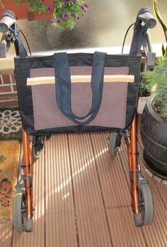 Taschen, Umhängetaschen, Rollatortasche,Einkaufst von Ulrikes Hobbyshop auf DaWanda.com