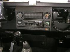 Land rover defender dash  for ex-military defenders by iron goat CC-90/110