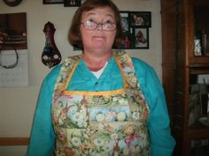 Easter Aprons made by Fried Green Aprons