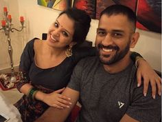 MS Dhoni with his wife Sakshi during Diwali celebrations . Ms Dhoni Wife, Ziva Dhoni, Dhoni Quotes, Ms Dhoni Wallpapers, Ms Dhoni Photos, Holi Wishes, Cricket Wallpapers, Diwali Celebration, Kings Game