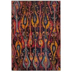 LR Resources Jubilee Multi 9 ft. 1 in. x 12 ft. 1 in. Artistic Plush Indoor Area Rug-JUBIL81002MLT90C0 - The Home Depot