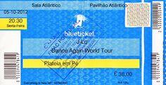 Concerto: J. LO @ Pavilhão Atlântico, Lisboa a 5 de Outubro de 2012.