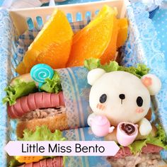 I made Sun & Moon Carrot Cake Bento! Yes carrot cake! The asian style fried radish cake decorated with a cute Sunny side up as Mr Sun and hanpen as Ms Moon in this bento! Bento Kids, Bento Box Lunch, Bento Food, Kawaii Bento, Cute Bento, Japanese Bento Box, Japanese Food, Bento Recipes, Recipes