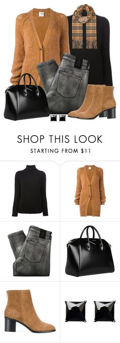 """Untitled #1550"" by gallant81 ❤ liked on Polyvore featuring Valentino, Forte Forte, 2nd Day, Givenchy, rag & bone, Witchery and Burberry"