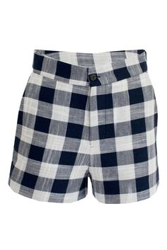 01d829a1e569d Linen Shorts, High Waisted Shorts, Casual Shorts, Patterned Shorts,  Gingham, Swim