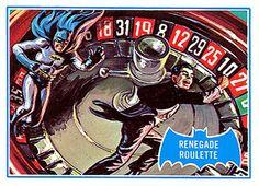 Topps Batman card: Renegade Roulette