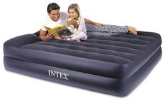 Intex Pillow Rest Air Bed Mattress w/Built In Air Pump & Pillow, Queen 78257315703 Air Mattress, Queen Mattress, Queen Beds, Half Moon Bay, Glamping, Echo Bedding, Bedding Sets, Inflatable Bed, Pumps