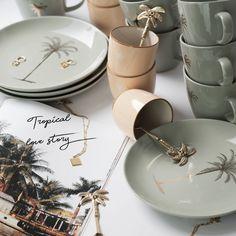 Pluk Amsterdam, Bloomingville, Tropical, Tableware