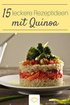 15 tolle Ideen für Quinoa - frisch aus der Blogger-Ideenschmiede
