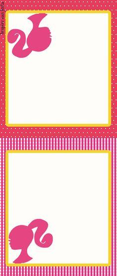 Barbie Rosa Kit festa grátis para imprimir – Inspire sua Festa ®