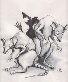 Como Ratas ciegas ratas