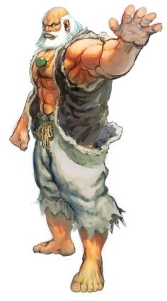 Gouken Art by Daigo Ikeno Fantasy Concept Art, Fantasy Art, Art Of Fighting, Fighting Games, Ultra Street Fighter, Game Character, Character Design, World Of Warriors, Dragon Ball