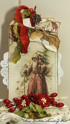 christmas.  Could also make vintage style gift tags.