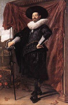 Portrait of Willem van Heythuyzen - Frans Hals. c.1625.
