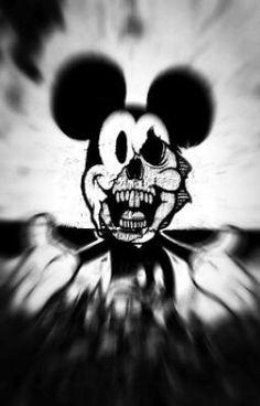 Bilderesultat for mickey mouse swag Creepy Drawings, Dark Art Drawings, Disney Horror, Horror Art, Mickey Mouse Kunst, Mickey Mouse Wallpaper, Trippy Wallpaper, Trippy Gif, Dark Disney