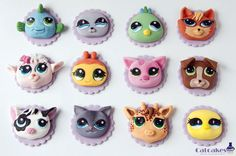 Littlest pet shop - Cake by Catcakes - CakesDecor