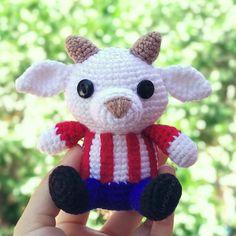 Ravelry: Chiva Guadalajara pattern by Anel M. Boyfriend Gifts, Crochet Baby, Maya, Free Pattern, Hello Kitty, Crochet Patterns, Teddy Bear, Cute, Animals