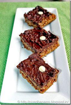 Chocolate Oatmeal Bar - microwave recipe