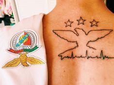 Soccer Tattoos, Football Tattoo, Benfica Wallpaper, Tattoo Feminina, Image Fun, True Love, Tatoos, Tatting, Piercings