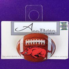 Licensed Arkansas Razorbacks Lapel Pin by AnnPedenJewelry on Etsy, $6.99