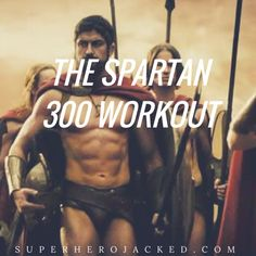 I'm going to assume you clicked on this post because, like any other sane person, you would love to look like a Spartan. Gerard Butler and his brave 300 went through a brutal training regime prior to their roles in the movie, and it's time to share it wi Weight Training Workouts, Gym Workout Tips, Circuit Training, Calisthenics Training, Workout Abs, Body Weight Training, Spartan 300 Workout, Hercules Workout, Pilates Studio