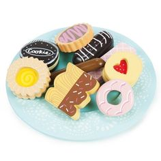 Biscuit + Plate Set