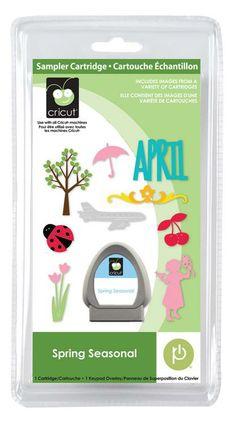 Cricut® Spring Seasonal Cartridge - Cricut Shop