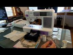 also some good tips for small patterns - A Review of the Brother SE-400 Machine Pt. 1 - YouTube