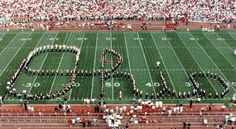 The Ohio State University. Greatest scene and tradition in college sports.  Sorry I'm not sorry.