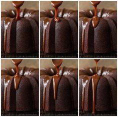 This Best Ever Chocolate Bundt Cake with Caramel Icing is a rich, decadent cake and super easy to throw together, no mixer necessary! It has a few fun secret, unexpected ingredients too! Irish Chocolate, Chocolate Bundt Cake, Cheesecakes, Banana Pound Cakes, Brownies, Caramel Icing, Decadent Cakes, Sugar Crystals, Coffee Cream