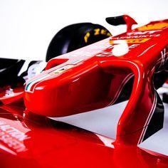 Ferrari SF16-H nose cone detail.